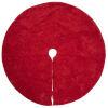 This item: Christmas Eve Red 60-Inch Tree Skirt with Elegant Cotton Velvet
