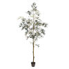 This item: Green P7-Feet otted Olive Tree with 1175 Leaves