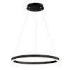 This item: Spunto Matte Black One-Light 27-Inch LED Chandelier