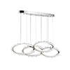 This item: Scoppia Chrome 7-Inch LED Chandelier