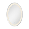 This item: Back-Lit Mirror Chrome 21.75-Inch LED Mirror