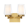 This item: Manchester Brass 12.75-Inch 2-Light Wall Sconce