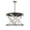 This item: Sarise Black Eight-Light LED Chandelier