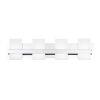 This item: Cambridge Chrome Four-Light LED Vanity Bar