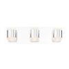 This item: Seaton Chrome Three-Light LED Vanity Bar