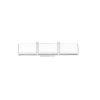 This item: Gerrard Chrome One-Light 3-Inch LED Bath bar with 3000 Kelvin 1600 Lumens
