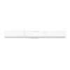 This item: Gerrard Chrome One-Light 3-Inch LED Bath bar with 3000 Kelvin 3200 Lumens