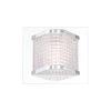 This item: Belgroue Chrome Six-Light LED Wall Sconce