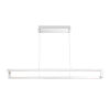 This item: Clinton Chrome One-Light 39-Inch LED Chandelier