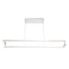 This item: Clinton Chrome One-Light 47-Inch LED Chandelier