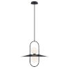 This item: Millbrook Black Two-Light LED Chandelier