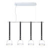 This item: Lappin Chrome Four-Light LED Chandelier