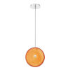 This item: Caledonia Chrome One-Light 12-Inch LED Pendant with 5000 Kelvin 1040 Lumens