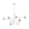 This item: Fairmount Chrome 10-Light LED Chandelier