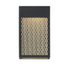 This item: Coop Black and Gold One-Light 3-Inch LED Outdoor Wall Sconce with 3000 Kelvin 910 Lumens