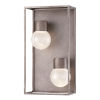 This item: Gibson Metal Two-Light LED Outdoor Wall Sconce