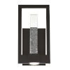 This item: Hanson Black Two-Light LED Outdoor Wall Sconce