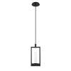 This item: Hanson Black Two-Light LED Mini Pendant