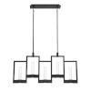 This item: Hanson Black Ten-Light LED Chandelier