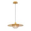 This item: Landigo Antique Brass One-Light Pendant