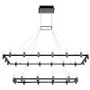 This item: Altamont Satin Nickel and Black 27-Inch 30-Light LED Chandelier