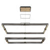 This item: Admiral Matte Black and Gold 29-Inch LED Chandelier