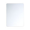 This item: Clear 24-Inch Rectangular Edge-Lit LED Wall Mirror