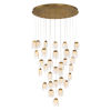 This item: Paget Gold 31-Light LED Pendant