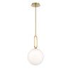 This item: Prospect White One-Light Mini Pendant