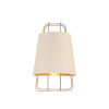 This item: Tura Brass One-Light Wall Sconce