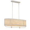 This item: Comparelli Off White Four-Light Chandelier