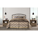 This item: Essex Speckled Pewter King Headboard and Footboard