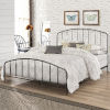 This item: Tolland Black 62-Inch Metal Queen Bed with Arched Spindle Design