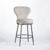 This item: Melange Charcoal Counter Height Stool