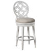 This item: Savona White Bar Height Stool