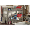 This item: Highlands Driftwood Full Bunk With 2 Storage Unit