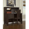 This item: Highlands Espresso Desk With Hutch And Chair