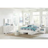 This item: Highlands White Twin Arch Bed With 2 Storage Unit