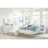 This item: Highlands White Twin Arch Bed With Trundle