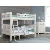 This item: Highlands White Full Bunk Bed