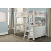 This item: Highlands White Full Loft Bed With Desk