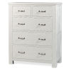 This item: Highlands White 5 Drawer Chest