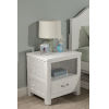 This item: Highlands White Nightstand