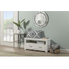 This item: Highlands White Dressing Bench