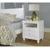 This item: Lake House White Nightstand