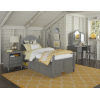 This item: Lake House Stone Twin Arch Bed With Storage