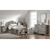 This item: Kensington Antique Silver Twin Panel Bed With Storage