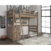 This item: Oxford Cocoa Twin Loft With 4 Drawer Chest End
