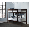 This item: Hillsdale Caspain Twin Over Twin Bunk, Chocolate
