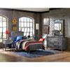 This item: Urban Quarters Black Steel 4-Piece Panel Twin Bed Set